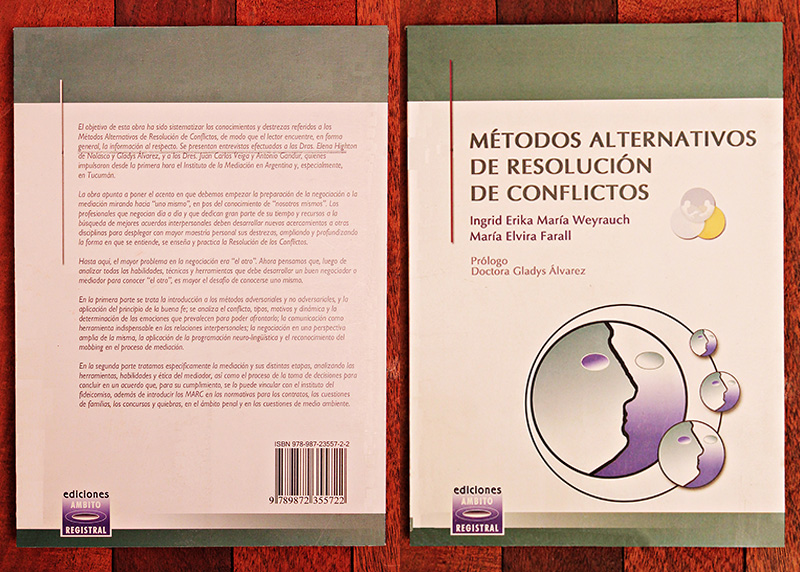 Métodos Alternativos de Resolución de Conflictos