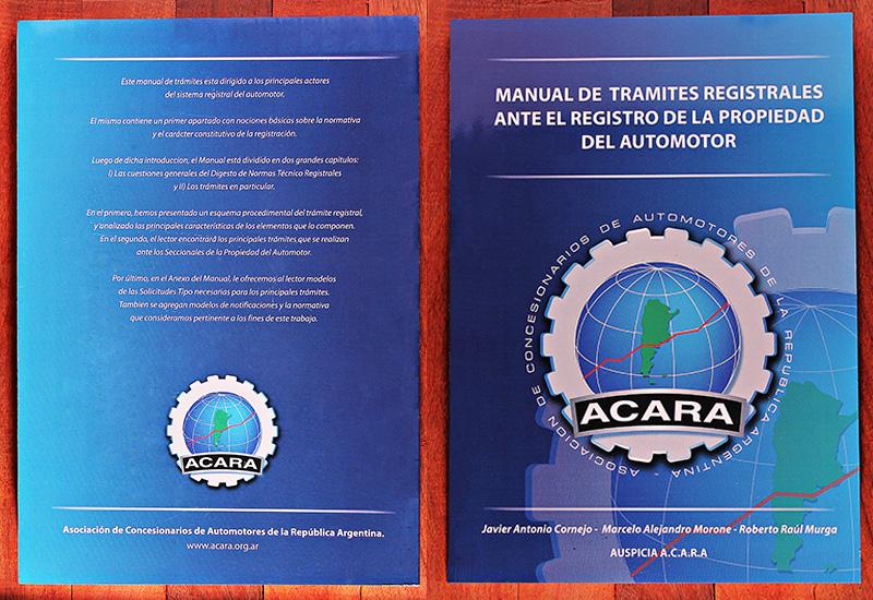 Manual de Trámites Registrales ante el Registro de la Propiedad del Automotor
