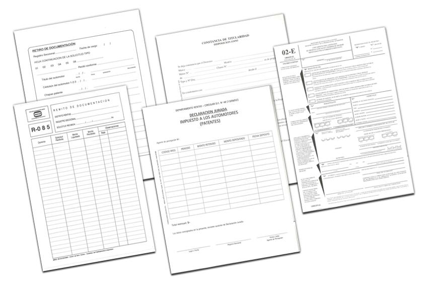 Formularios Uso RegistralFormularios Uso Registral